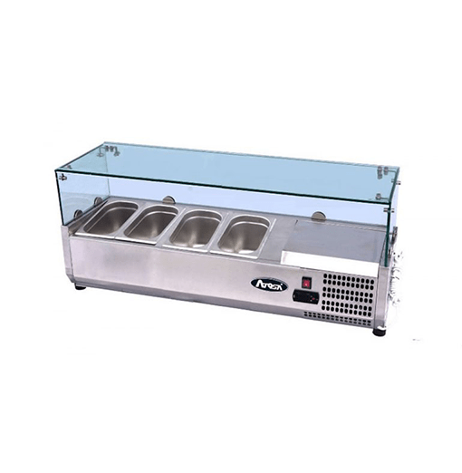 Atosa Glass Prep Topping Counter Top VRX1200 380