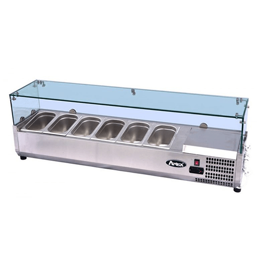 Atosa Glass Prep Topping Counter Top VRX1500 380