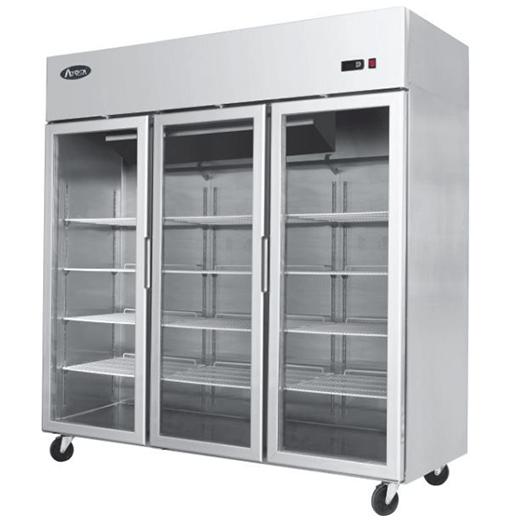 Atosa YCF9409 Project Type 3 Door Slim Display Freezer