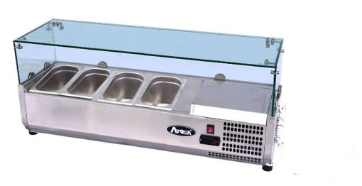 Atosa Glass Prep Topping Counter Top VRX1200/380