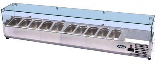 Atosa Glass Prep Topping Counter Top VRX2000/330