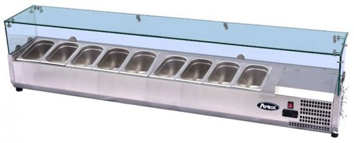 Atosa Glass Prep Topping Counter Top VRX2000/380