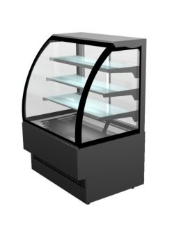 "Sterling Pro Patisserie Serveover Counter ""Evo"" Curved Glass EVO90"