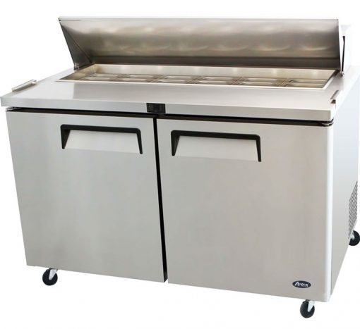 2 Large Door Salad Prep Table MSF8303