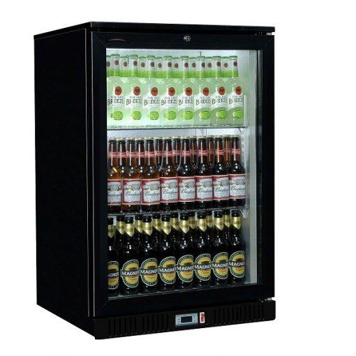Sterling Pro SP1BC-BK Black Single Door Bottle Cooler