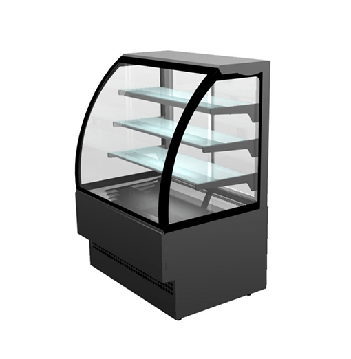 Sterling Pro Patisserie Serveover Counter Evo Curved Glass EVO90
