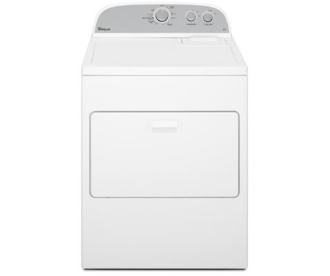 Whirlpool 3LWED4815FW Atlantis 6th Sense Dryer