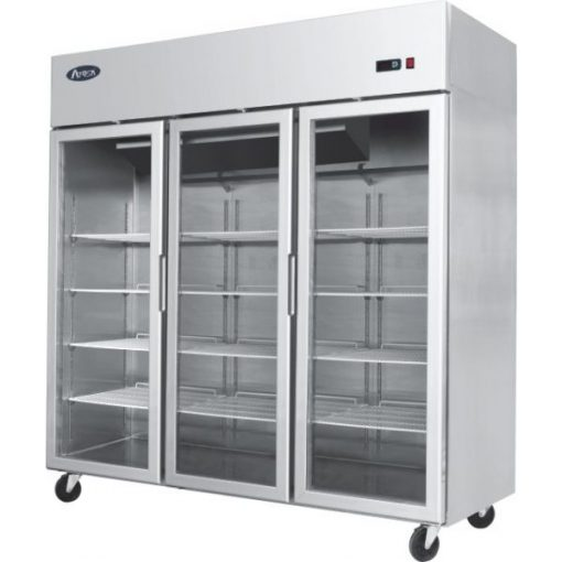 Atosa YCF9409 Project Type 3 Door Slim Display Freezer