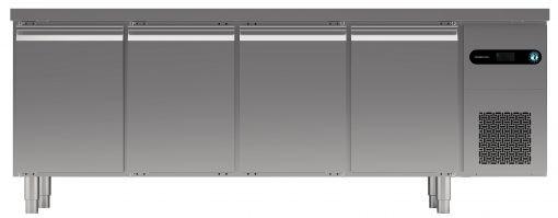 Hoshizaki Snowflake 4 Door GII Refrigerated Counter SCR-225CGRC-LLRR-C1