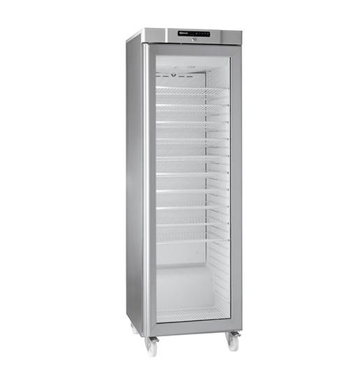 Gram COMPACT KG 410 RG C 10WV Glass Door Refrigerator