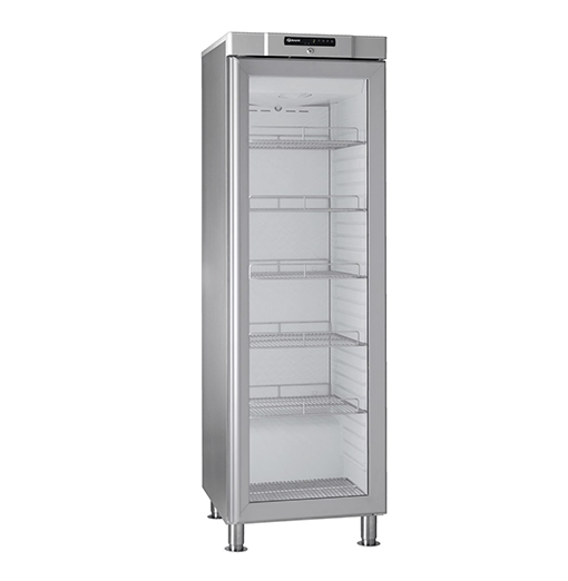 Gram COMPACT KG 410 RH 60HZ LM 5M Glass Door Fridge