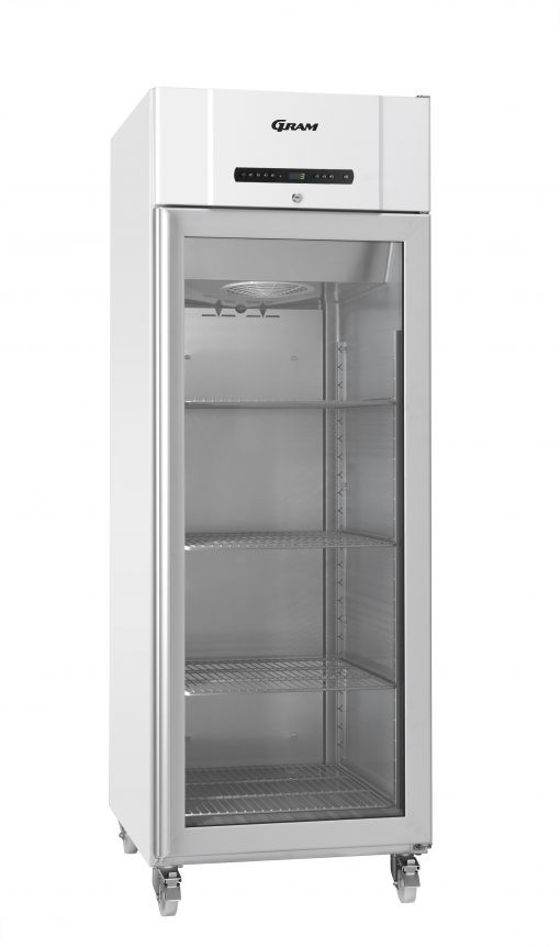 Gram COMPACT KG 610 LG C 4N Glass Door Refrigerator