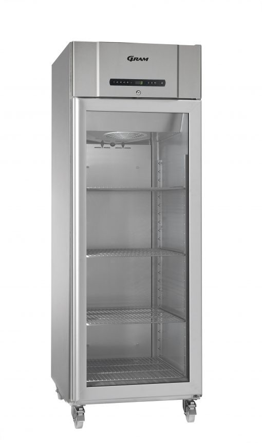 Gram COMPACT KG 610 RG C 4N Glass Door Refrigerator