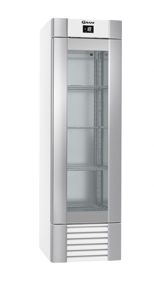 Gram ECO MIDI FG 60 LLG 4W K Glass Door Freezer