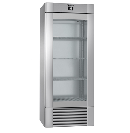 Gram ECO MIDI FG 82 CCG 4S K Glass Door Freezer