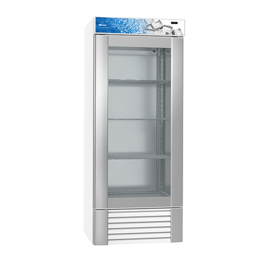 Gram ECO MIDI FG 82 LLG 4W Glass Door Freezer