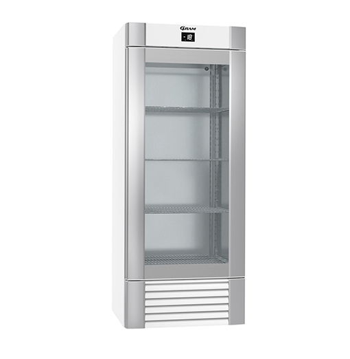 Gram ECO MIDI FG 82 LLG 4W K Glass Door Freezer