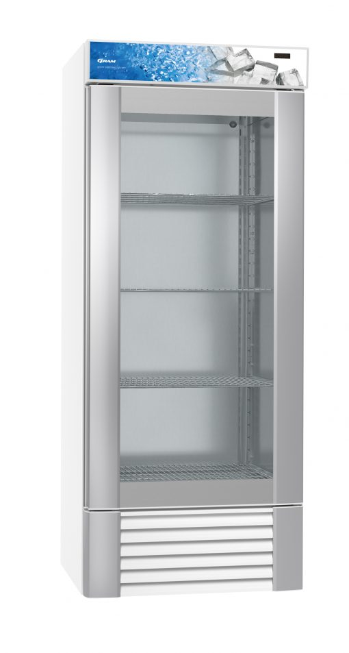 Gram ECO MIDI KG 82 LLG 4W Glass Door Refrigerator