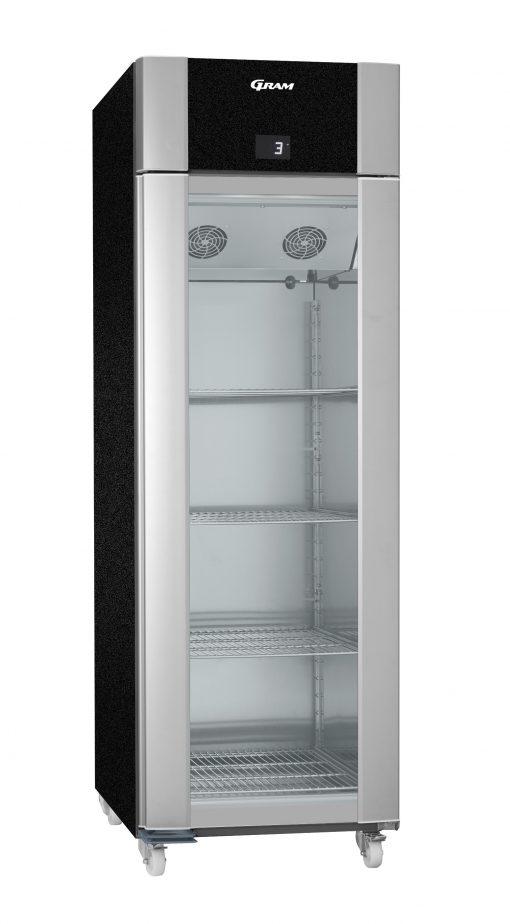 Gram ECO PLUS KG 70 BCG C1 4N Glass Door Refrigerator