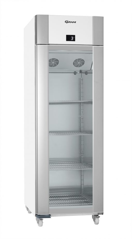 Gram ECO PLUS KG 70 LCG C1 4N Glass Door Refrigerator
