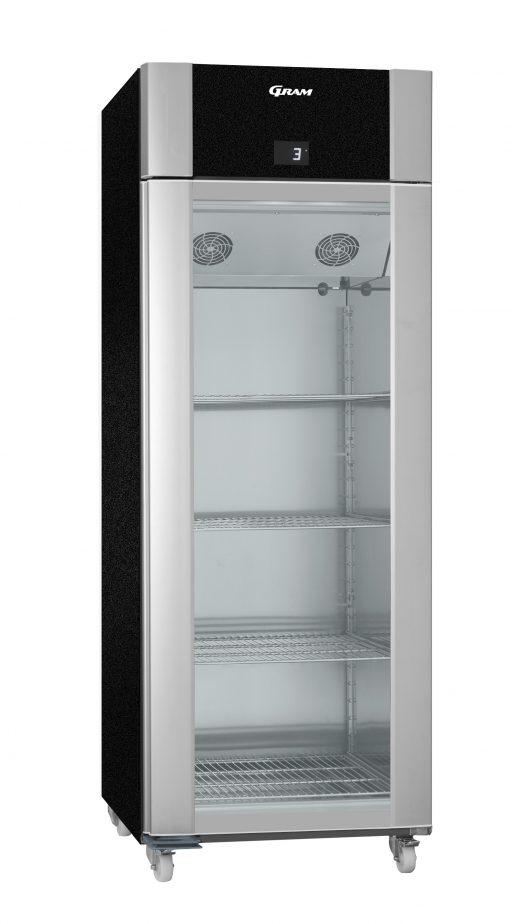 Gram ECO TWIN KG 82 BCG C1 4N Glass Door Refrigerator