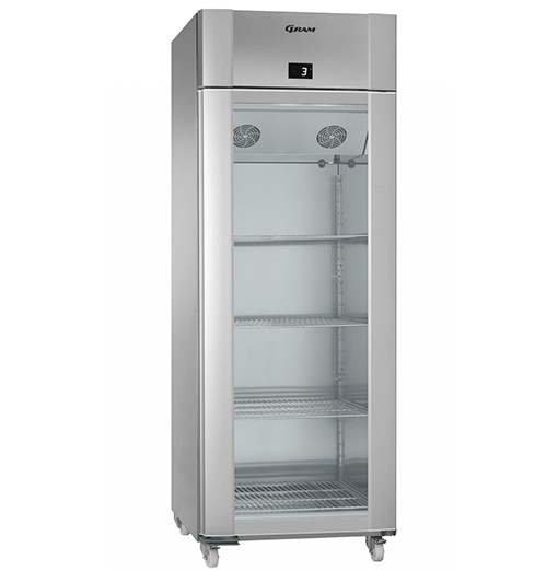 Gram ECO TWIN KG 82 CAG C1 4N Glass Door Refrigerator