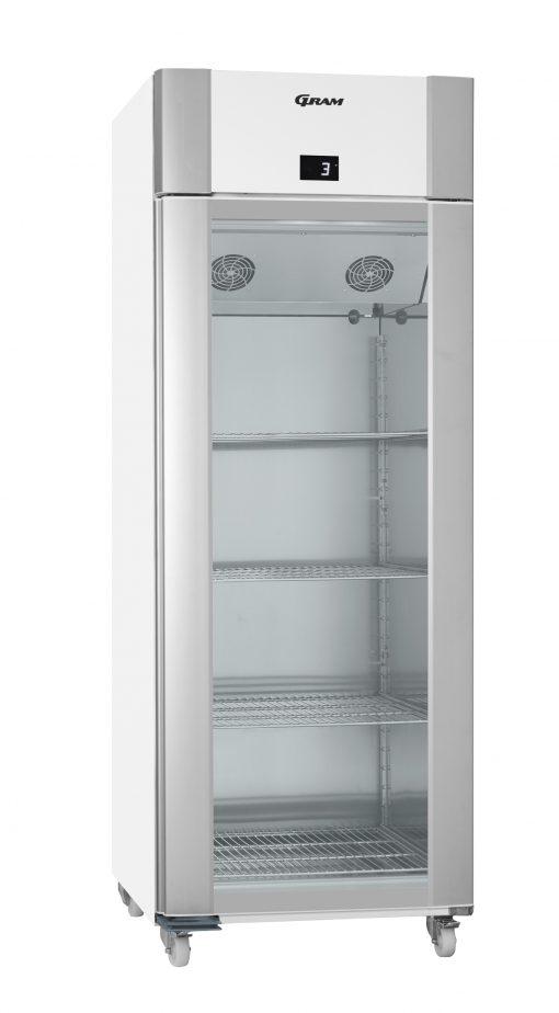 Gram ECO TWIN KG 82 LCG C1 4N Glass Door Refrigerator