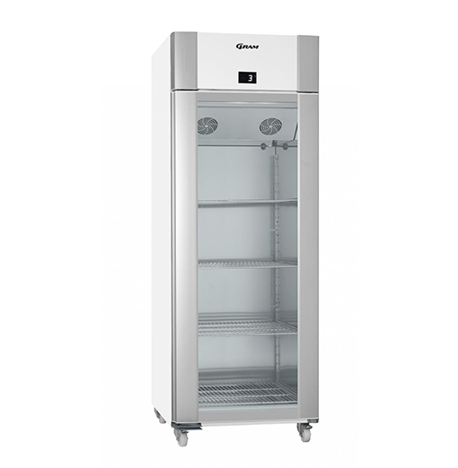 Gram ECO TWIN KG 82 LCG C1 4N Glass Door Refrigerator