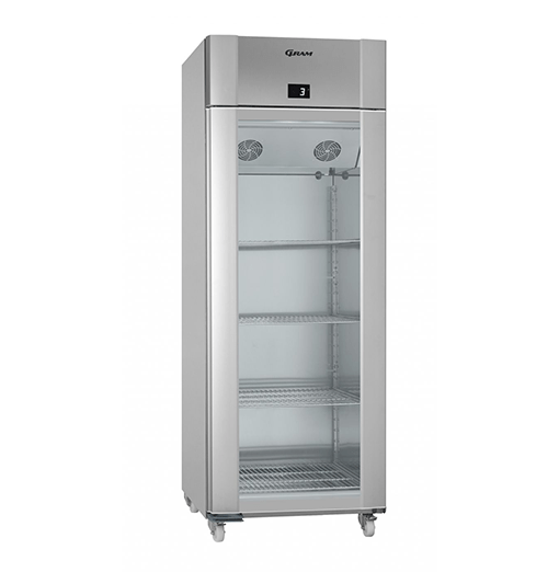 Gram ECO TWIN KG 82 RAG C1 4N Glass Door Refrigerator