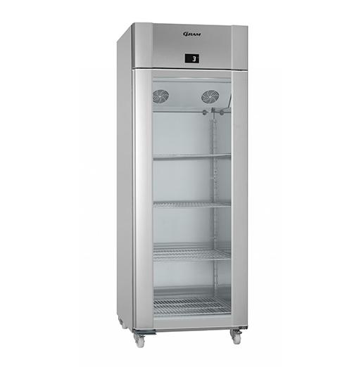 Gram ECO TWIN KG 82 RCG C1 4N Glass Door Refrigerator
