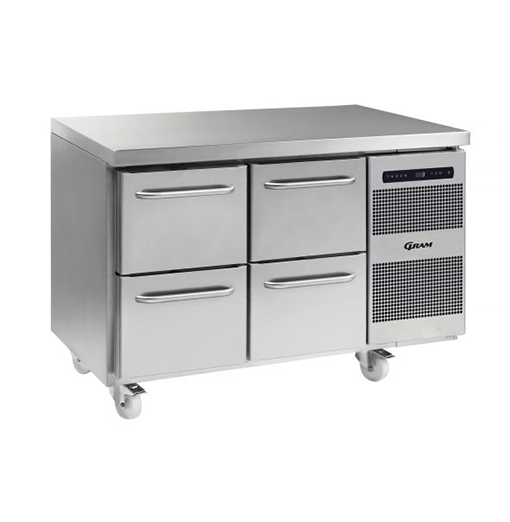 Gram GASTRO K 1407 CSG A 2D 2D C2 Refrigerated counter