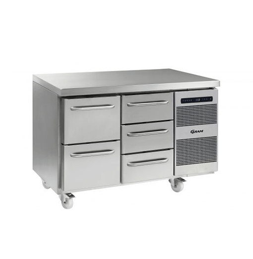 Gram GASTRO K 1407 CSG A 2D 3D C2 Refrigerated counter