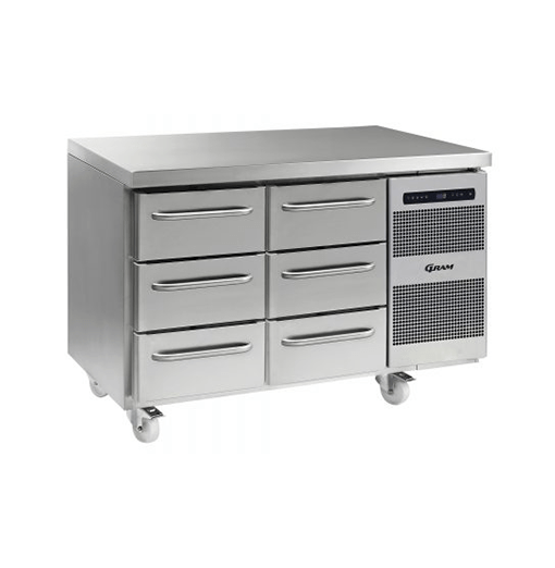 Gram GASTRO K 1407 CSG A 3D 3D C2 Refrigerated counter