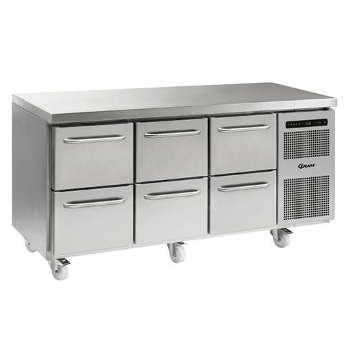 Gram GASTRO K 1807 CSG A 2D/2D/2D C2 Refrigerated counter
