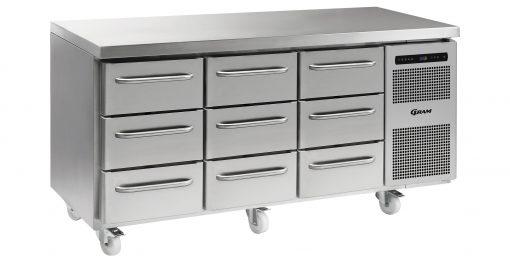 Gram GASTRO K 1807 CSG A 3D/3D/3D C2 Refrigerated counter