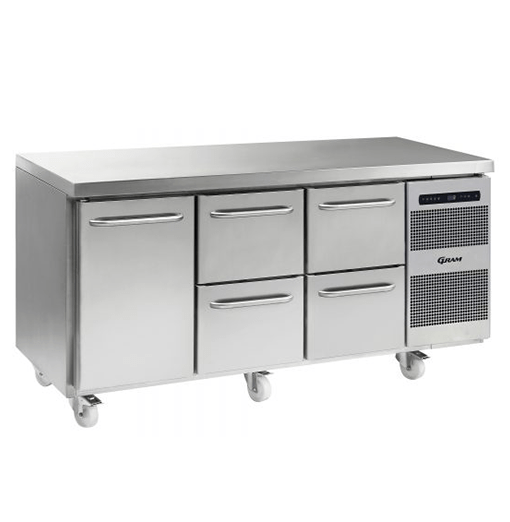 Gram GASTRO K 1807 CSG A DL 2D 2D C2 Refrigerated counter