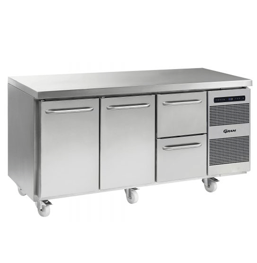 Gram GASTRO K 1807 CSG A DL DL 2D C2 Refrigerated counter