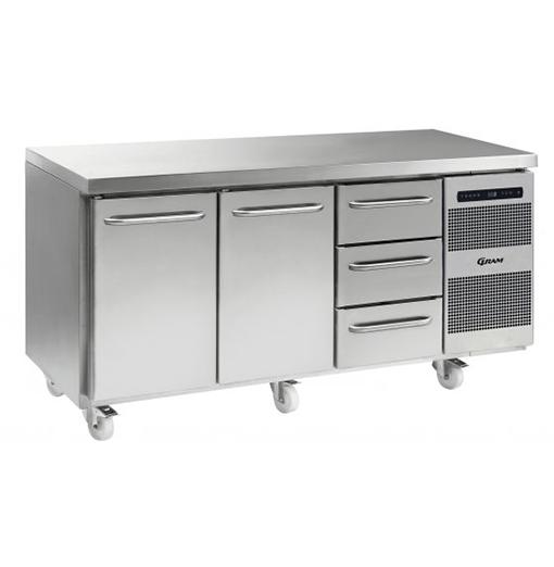 Gram GASTRO K 1807 CSG A DL DL 3D C2 Refrigerated counter