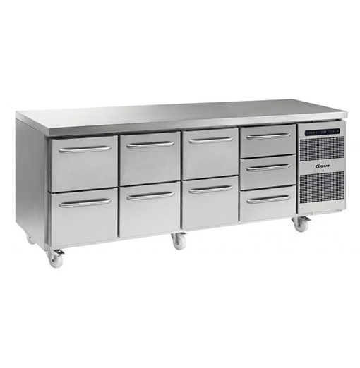 Gram GASTRO K 2207 CSG A 2D 2D 2D 3D C2 Refrigerated counter