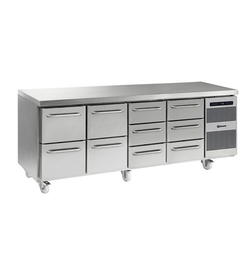 Gram GASTRO K 2207 CSG A 2D 2D 3D 3D C2 Refrigerated counter