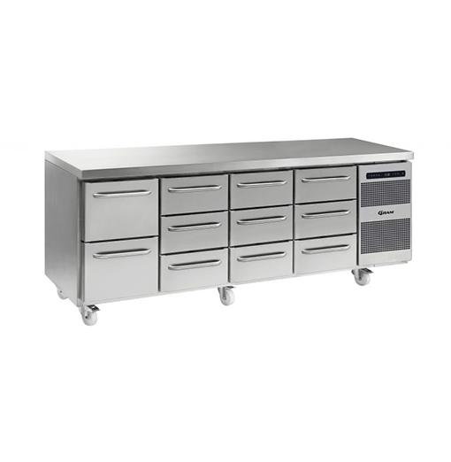 Gram GASTRO K 2207 CSG A 2D 3D 3D 3D C2 Refrigerated counter