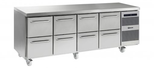 Gram GASTRO K 2207 CSG A 2D/2D/2D/2D C2 Refrigerated counter