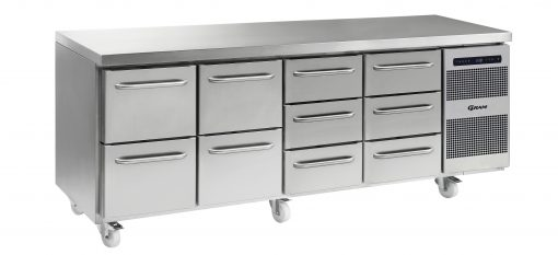 Gram GASTRO K 2207 CSG A 2D/2D/3D/3D C2 Refrigerated counter