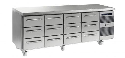 Gram GASTRO K 2207 CSG A 3D/3D/3D/3D C2 Refrigerated counter