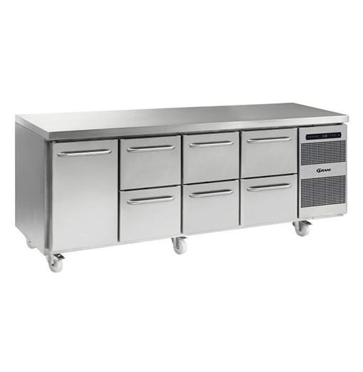 Gram GASTRO K 2207 CSG A DL 2D 2D 2D C2 Refrigerated counter