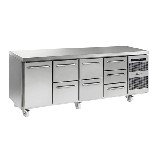 Gram GASTRO K 2207 CSG A DL 2D 2D 3D C2 Refrigerated counter