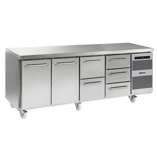 Gram GASTRO K 2207 CSG A DL DL 2D 3D C2 Refrigerated counter