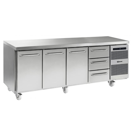 Gram GASTRO K 2207 CSG A DL DL DL 3D C2 Refrigerated counter