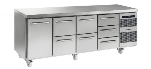 Gram GASTRO K 2207 CSG A DL/2D/2D/3D C2 Refrigerated counter